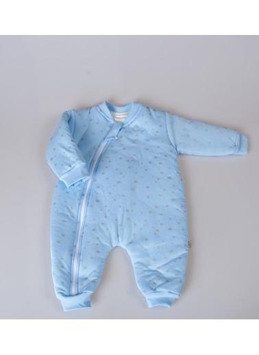 POKY Bebek Yıldız Desenli Yıkanabilir Uyku Tulumu-10584 Hardal